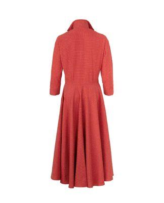 MARINA CORAL DRESS