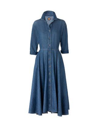 MARINA DENIM DRESS