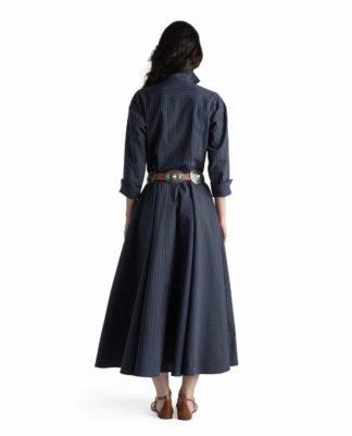 MARINA DRESS PORTLAND BLEU