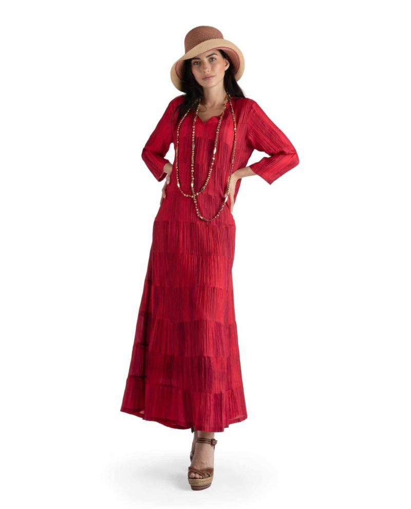 BRITTANIA RED DRESS